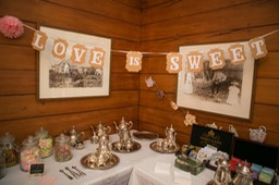 CANDY & SILVERWARE TABLE