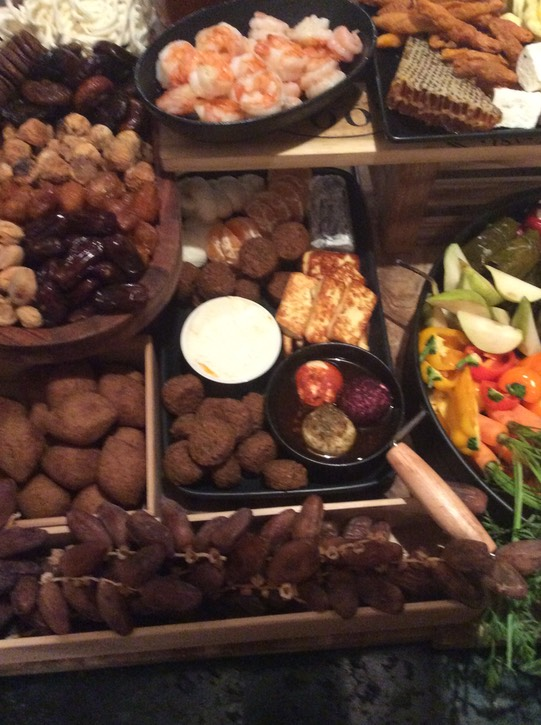 MIDDLE EASTERN MEZE GRAZING TABLE 8