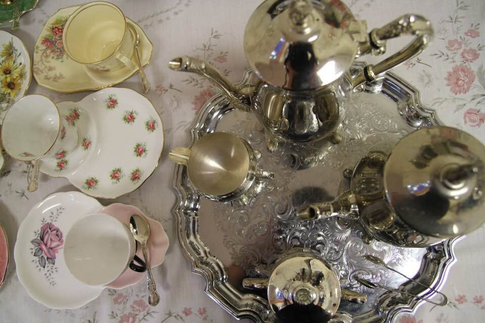 Royal Albert Tennis Sets & Rodd Silverware