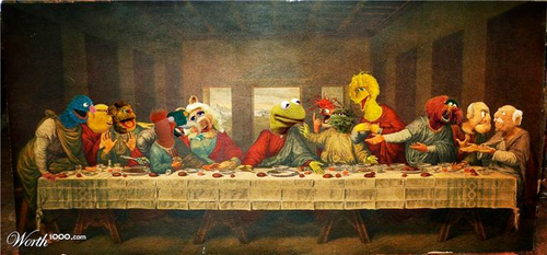 Image result for the last supper the muppets